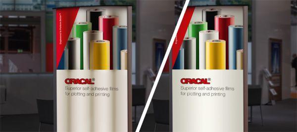 Новые светорассеивающие пленки, добавленные к ассортименту ORACAL